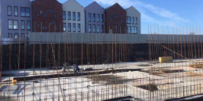 Osiedle Stara Cegielnia - Postępy w budowie Bud E i F (1)