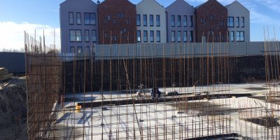Osiedle Stara Cegielnia - Postępy w budowie Bud E i F (2)