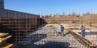 Osiedle Stara Cegielnia - Postępy w budowie Bud E i F (3)